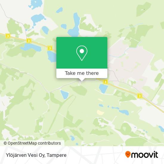 Ylöjärven Vesi Oy map