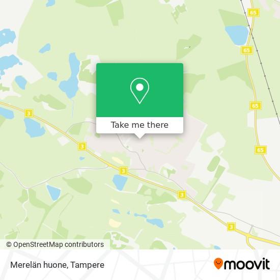 Merelän huone map