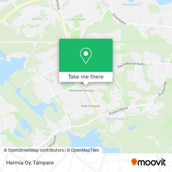 Hermia Oy map