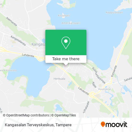Kangasalan Terveyskeskus map