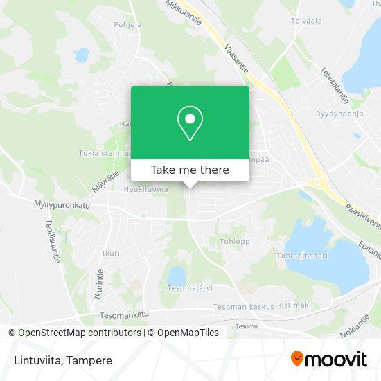 Lintuviita map