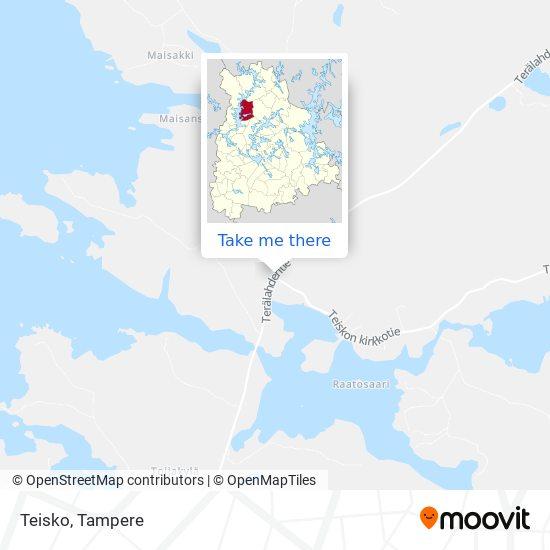 Teisko map