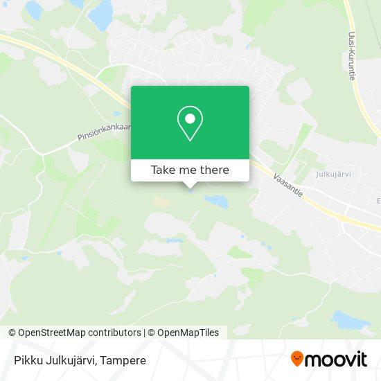 Pikku Julkujärvi map