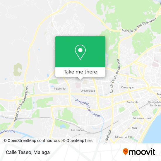 Wie Komme Ich Zu Calle Teseo In Málaga Mit Dem Bus Der Bahn Oder Der Metro Moovit