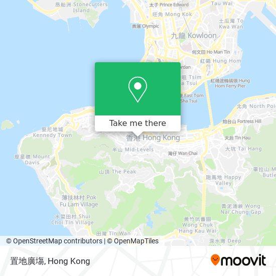 置地廣塲地図