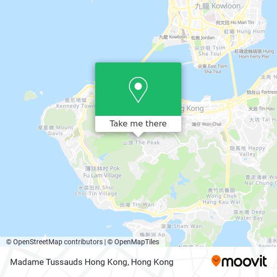 Madame Tussauds Hong Kong地図