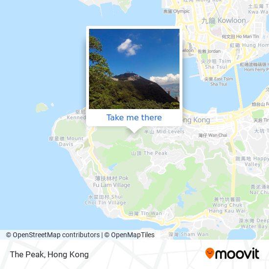 The Peak地図