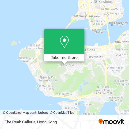 The Peak Galleria地図