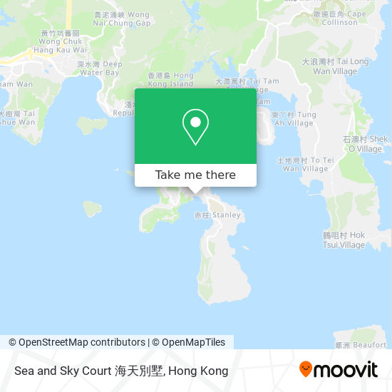 Sea and Sky Court 海天別墅地図