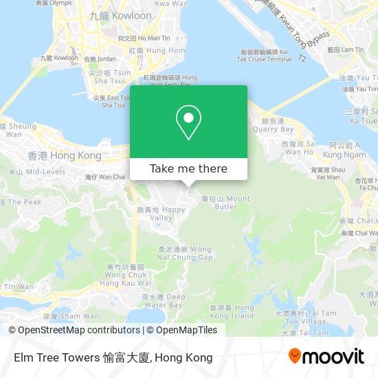 Elm Tree Towers 愉富大廈地図