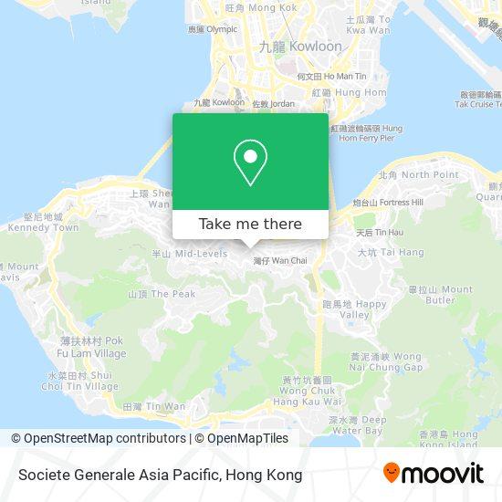 Societe Generale Asia Pacific地図