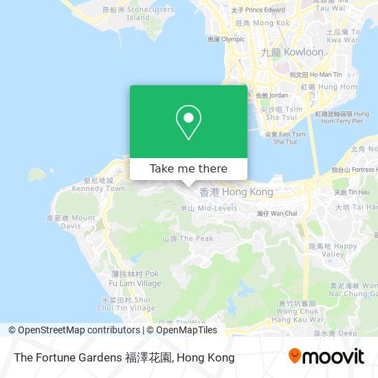 The Fortune Gardens 福澤花園地図