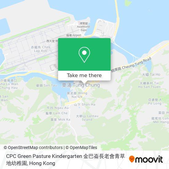 CPC Green Pasture Kindergarten 金巴崙長老會青草地幼稚園地図