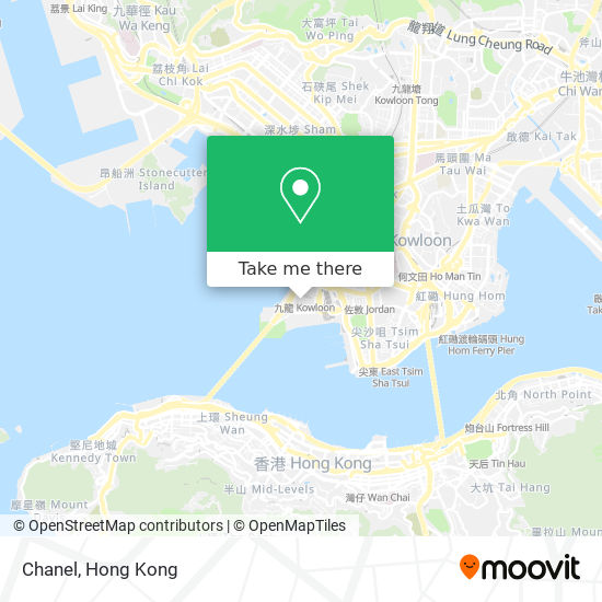 Chanel地図
