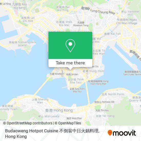 Budaoweng Hotpot Cuisine 不倒翁中日火鍋料理地図
