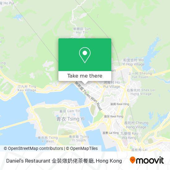 Daniel's Restaurant 金裝燉奶佬茶餐廳地図