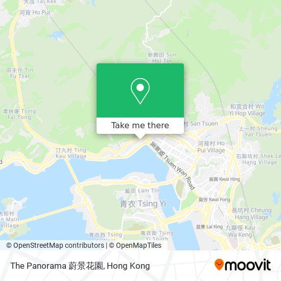 The Panorama 蔚景花園 지도