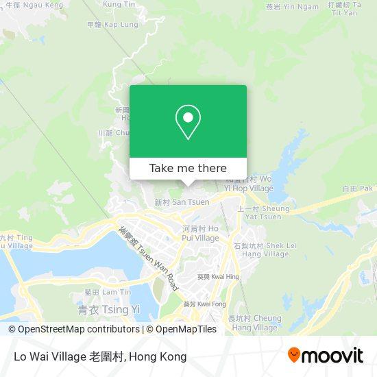 Lo Wai Village 老圍村地図
