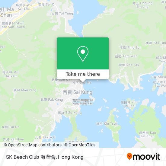 SK Beach Club 海灣會地図