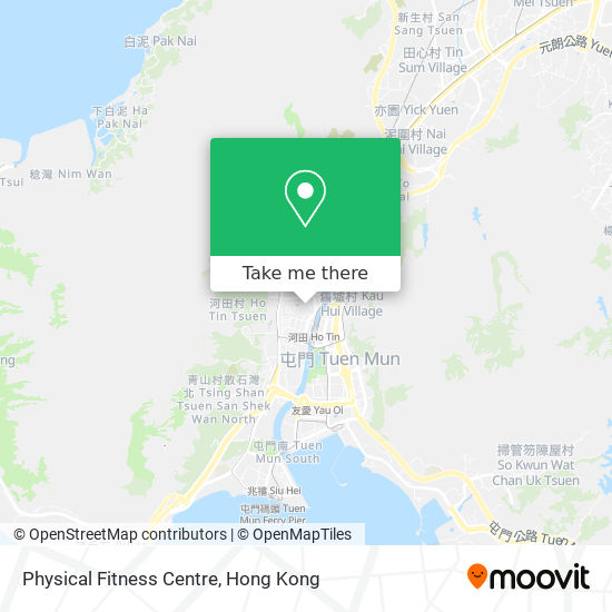 Physical Fitness Centre地図