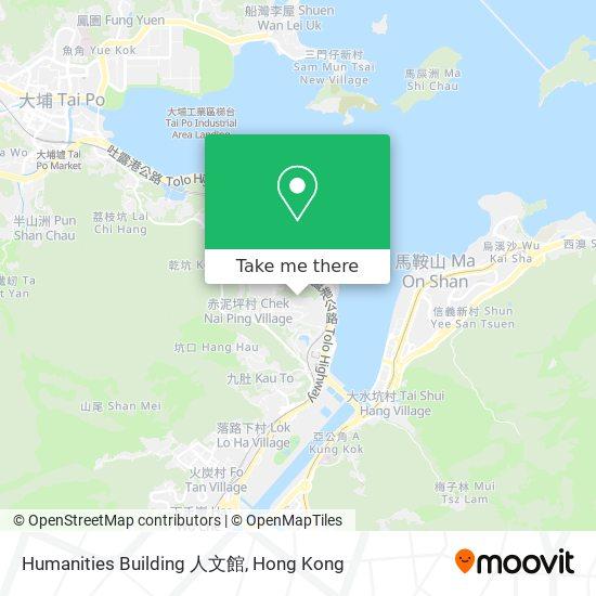 Humanities Building 人文館地図