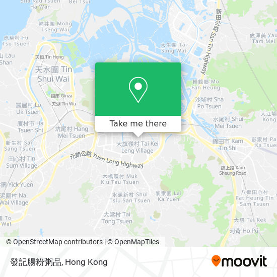 發記腸粉粥品地図