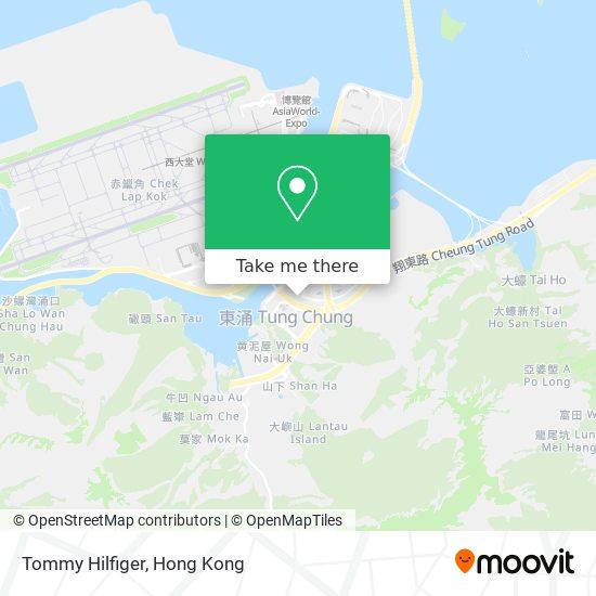 Tommy Hilfiger地図