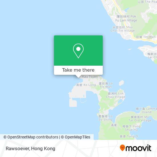 Rawsoever地図