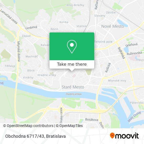 Obchodna 6717/43 map