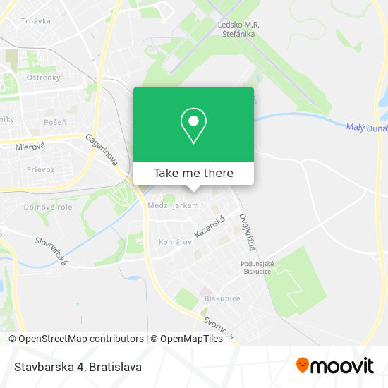 Stavbarska 4 map
