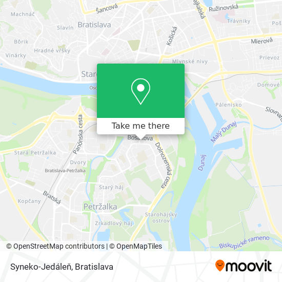 Syneko-Jedáleň map