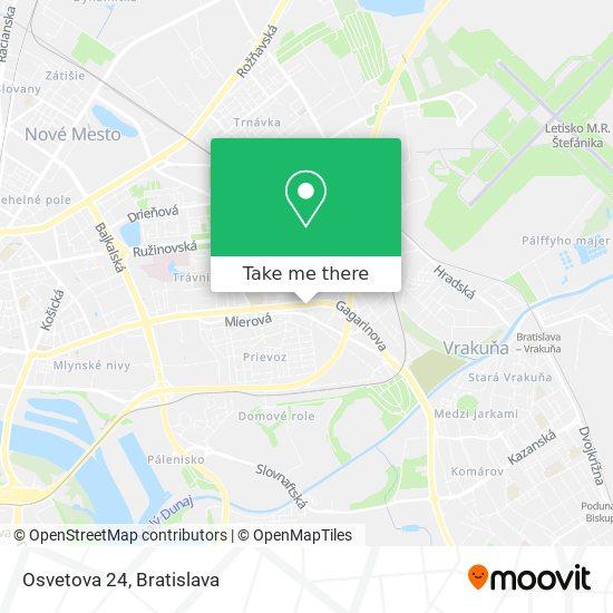Osvetova 24 map