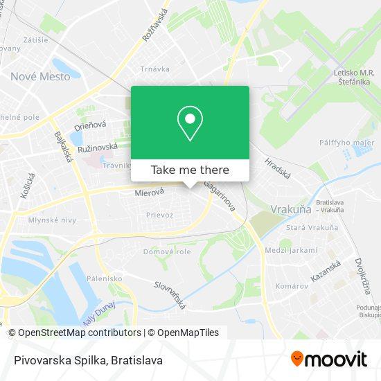 Pivovarska Spilka map