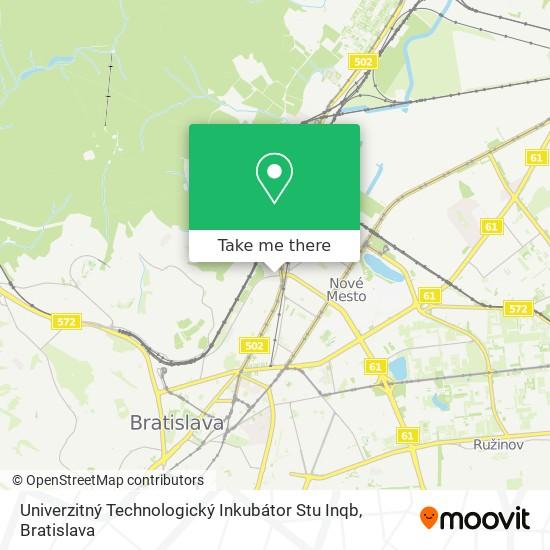 Univerzitný Technologický Inkubátor Stu Inqb map