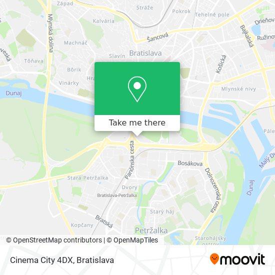 Cinema City 4DX map