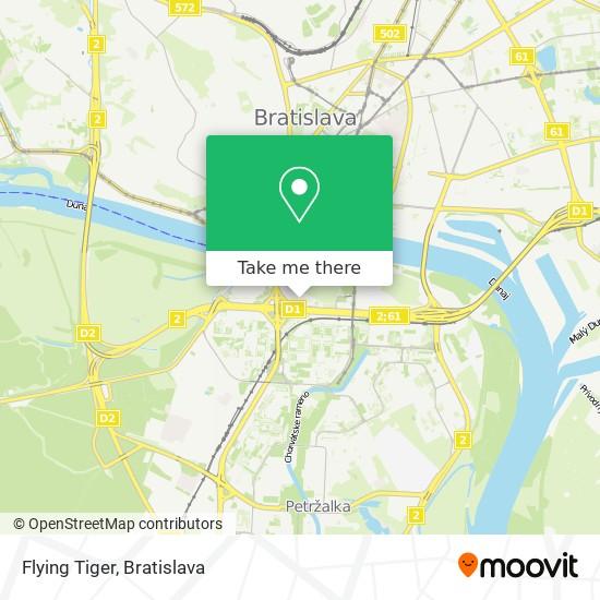 Flying Tiger map