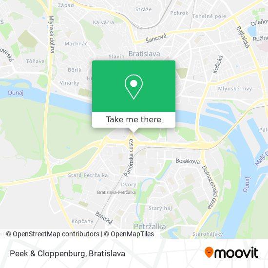 Peek & Cloppenburg map