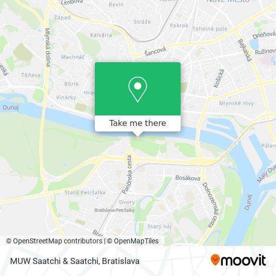 MUW Saatchi & Saatchi map