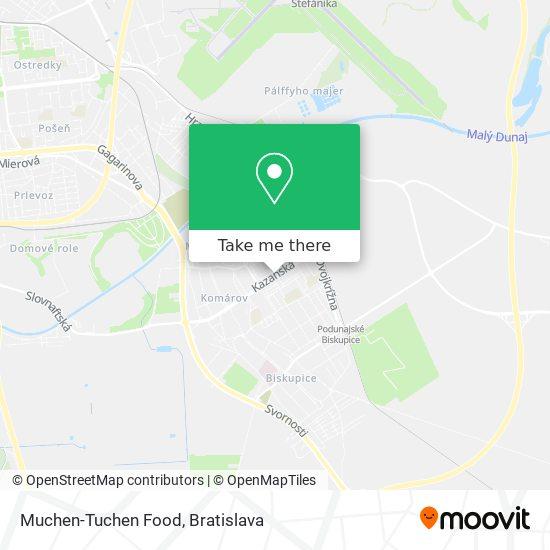 Muchen-Tuchen Food map