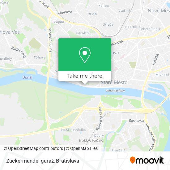 Zuckermandel garáž map