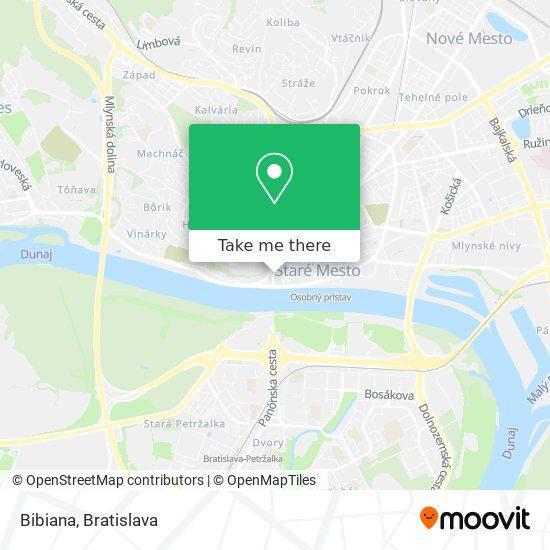Bibiana map