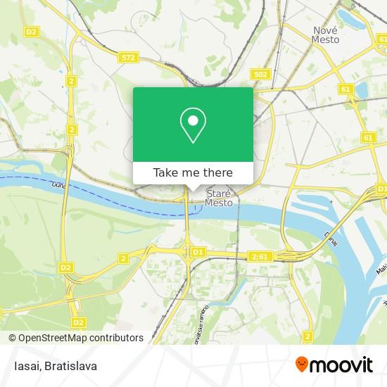Iasai map