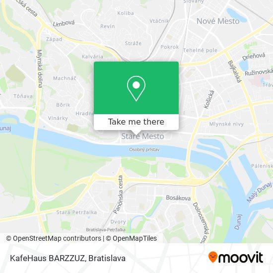 KafeHaus BARZZUZ map