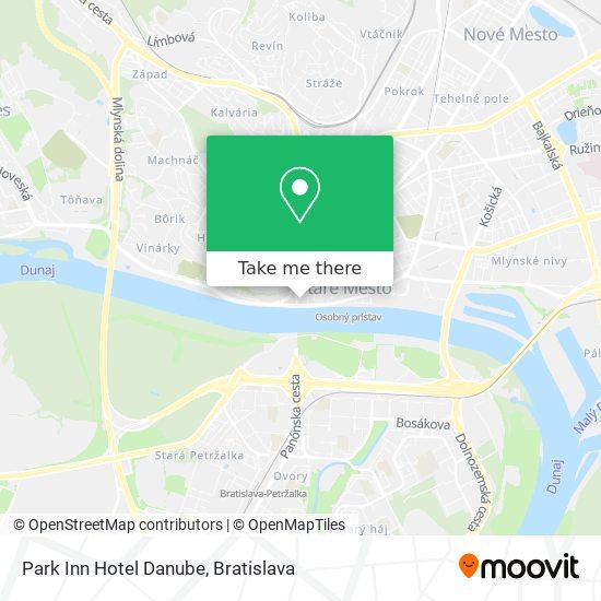 Park Inn Hotel Danube map