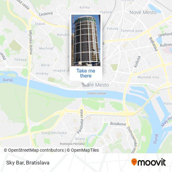 Sky Bar map