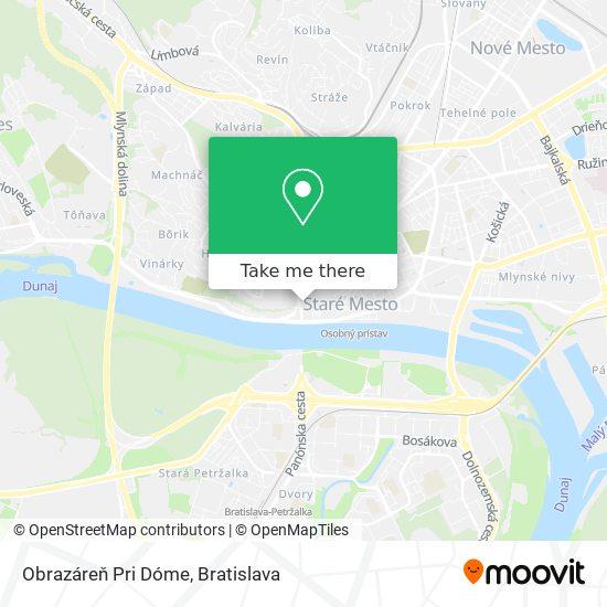 Obrazáreň Pri Dóme map