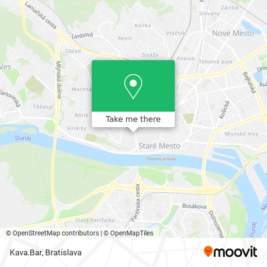 Kava.Bar map