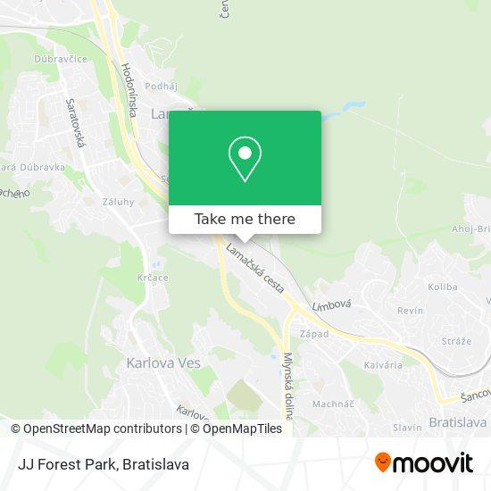 JJ Forest Park mapa
