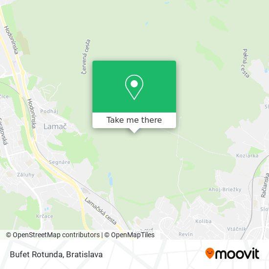 Bufet Rotunda mapa