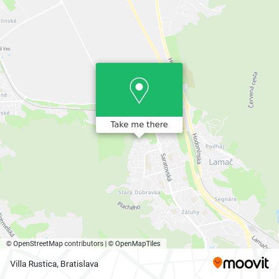 Villa Rustica mapa